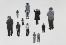 Visitor Cutouts in B&W, 2010-2012