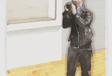 Photographer at Centre Pompidou, 2014