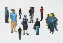 Visitor Cutouts, 2012-13